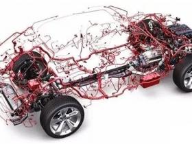 汽车线束主干及分支的控制方法与布置