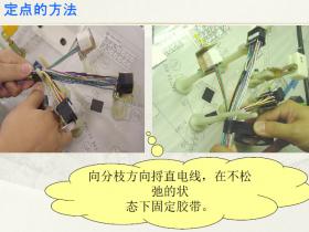 线束粗包、细包、套管、分支包扎方法示意