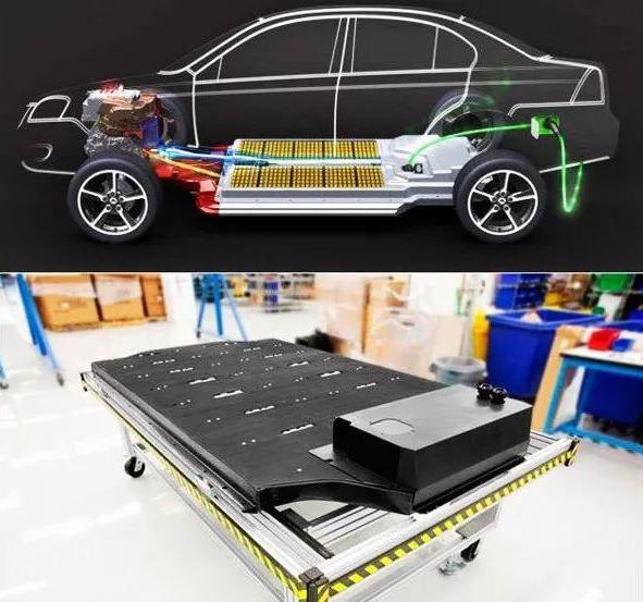 电动车高压系统的组成及电气连接关系