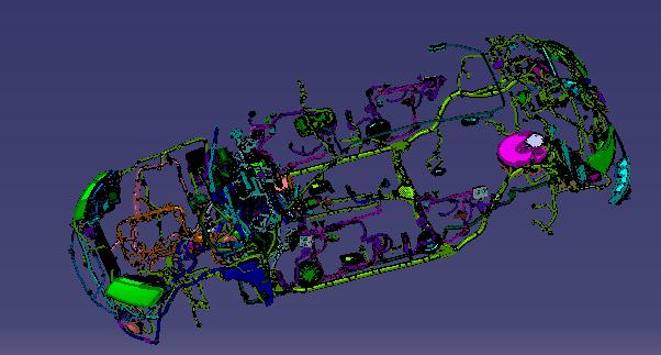 线束工程师:奥迪汽车线束设计参考资料包