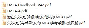 汽车行业五大基本手册-FMEA全套资料