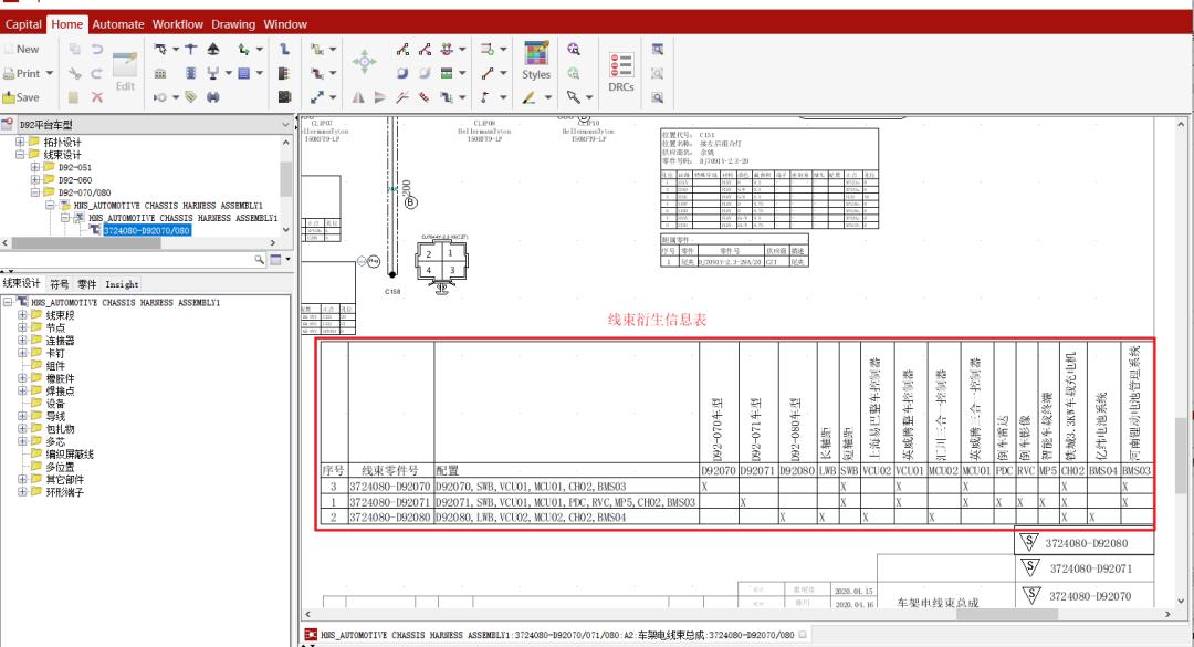 CHS(Capital)配置Option选项设计运用举例