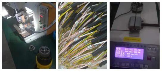 U型端子压接芯线出头长度改善